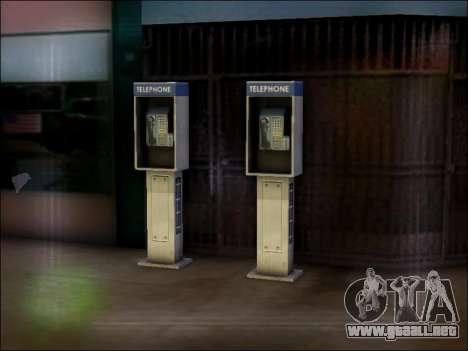 Calle de teléfono para GTA San Andreas