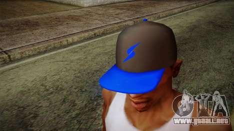 Storm Freerun Cap para GTA San Andreas tercera pantalla