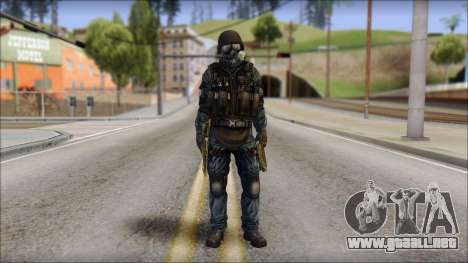 Tactical GIGN from Soldier Front 2 para GTA San Andreas