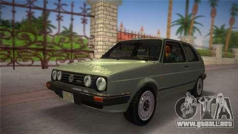 Volkswagen Golf II 1991 para GTA Vice City visión correcta