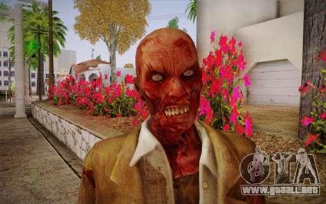 Crimson Zombie Skin para GTA San Andreas tercera pantalla