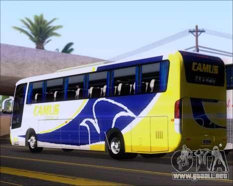 Busscar Vissta Buss LO Mercedes Benz 0-500RS para la visión correcta GTA San Andreas