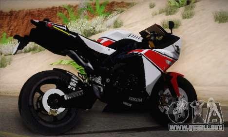 Yamaha R1 2011 para GTA San Andreas left
