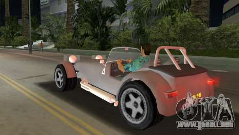 Caterham Super Seven para GTA Vice City left