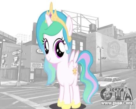 Inicio pantallas de My Little Pony para GTA 4 quinta pantalla
