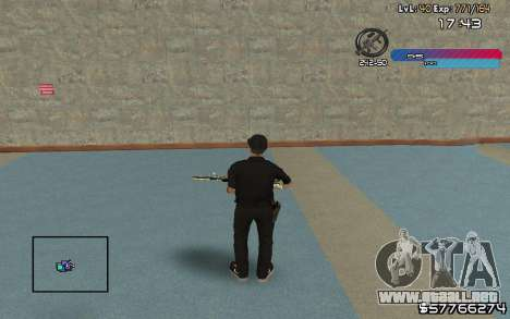 C-HUD by Nas para GTA San Andreas segunda pantalla