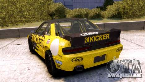 Nissan 240SX para GTA 4 left