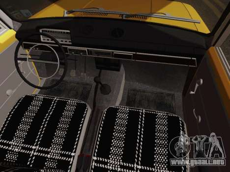VAZ 2101 de Recogida para vista lateral GTA San Andreas
