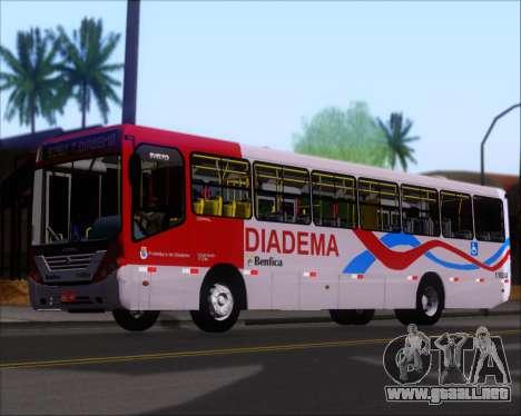 Comil Svelto 2008 Volksbus 17-2 Benfica Diadema para GTA San Andreas interior
