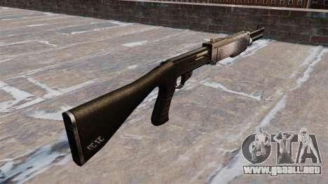 Ружье Franchi SPAS-12 Chrome para GTA 4 segundos de pantalla