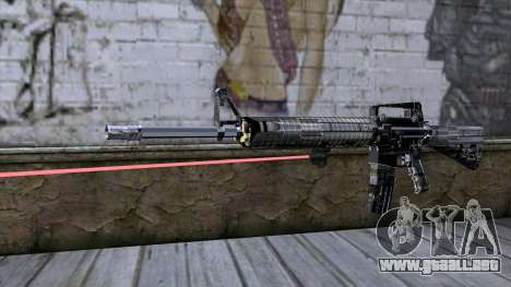 M4A1 con mira láser para GTA San Andreas