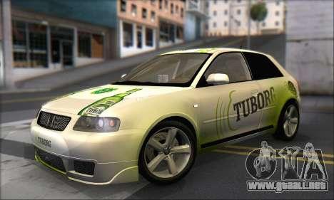 Audi A3 1999 para las ruedas de GTA San Andreas