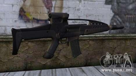 XM8 Assault Black para GTA San Andreas segunda pantalla