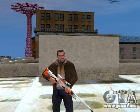AWP para GTA 4 segundos de pantalla