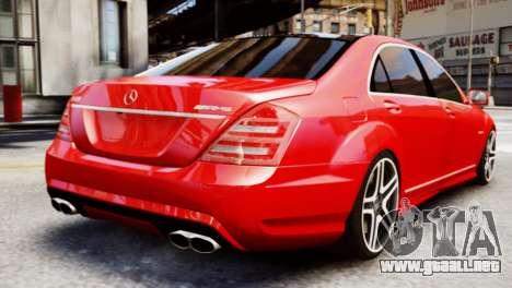 Mercedes-Benz S65 W221 AMG v1.3 para GTA 4 left