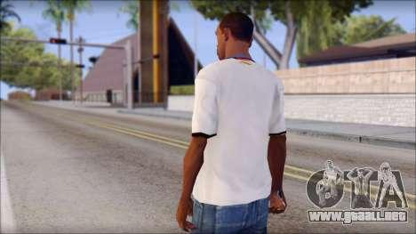 Real Madrid FC Jersey Mod para GTA San Andreas segunda pantalla