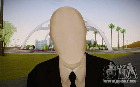 Slenderman para GTA San Andreas tercera pantalla