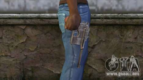 Mauser C-96 para GTA San Andreas tercera pantalla