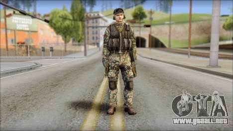 Nima GROM from Soldier Front 2 para GTA San Andreas