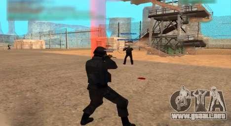 Who Shoots para GTA San Andreas tercera pantalla