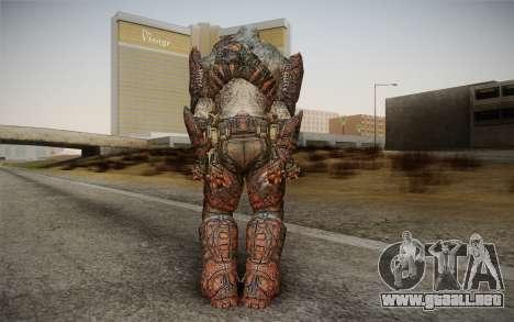 Granadier Hunter Bombs para GTA San Andreas segunda pantalla