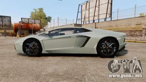 Lamborghini Aventador LP700-4 v2 [RIV] para GTA 4 left