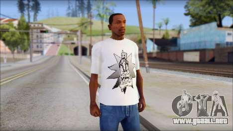 Spray Can Comic T-Shirt para GTA San Andreas