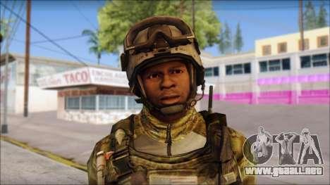 Truck from Modern Warfare 3 para GTA San Andreas tercera pantalla