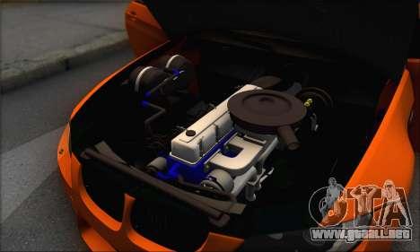 BMW M3 E92 Soft Tuning para la vista superior GTA San Andreas
