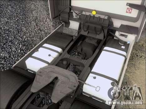 Iveco Stralis HiWay 560 e6 4x2 para GTA San Andreas interior