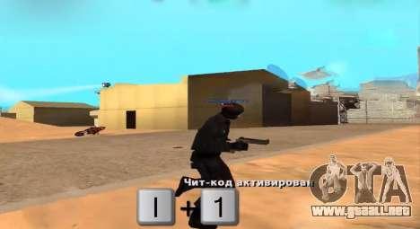 Who Shoots para GTA San Andreas segunda pantalla