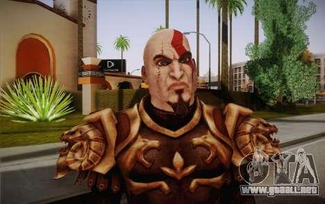 Kratos God Armor para GTA San Andreas tercera pantalla