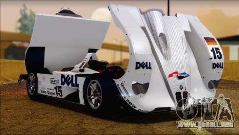 BMW 14 LMR 1999 para la visión correcta GTA San Andreas