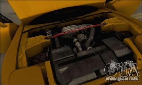 Mazda RX-7 1991 para vista inferior GTA San Andreas
