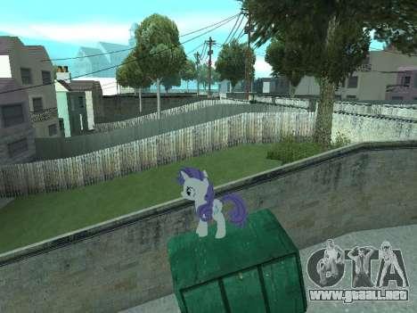 Rarity para GTA San Andreas octavo de pantalla