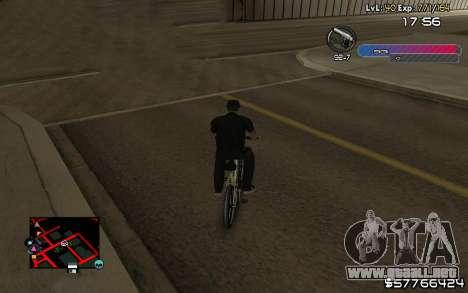 C-HUD by Nas para GTA San Andreas tercera pantalla