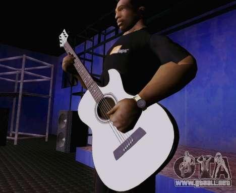 Canciones de Viktor Tsoi guitarra para GTA San Andreas