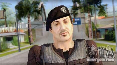 Barney Ross para GTA San Andreas tercera pantalla