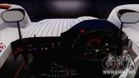 BMW 14 LMR 1999 para vista inferior GTA San Andreas