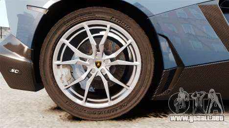Lamborghini Aventador LP720-4 50th Anniversario para GTA 4 vista hacia atrás