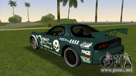 Mazda RX-7 Tuning para GTA Vice City left