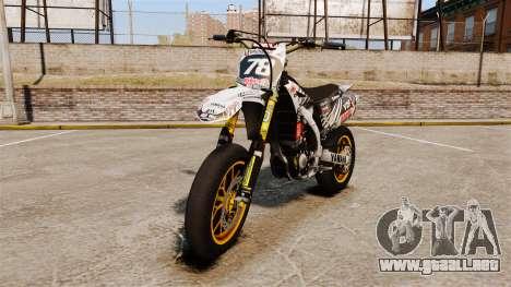 Yamaha YZF-450 v1.20 para GTA 4
