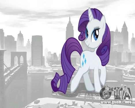 Inicio pantallas de My Little Pony para GTA 4