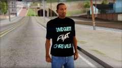 David Guetta Gettin Over T-Shirt para GTA San Andreas