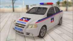 Chevrolet Aveo Policía no molestar