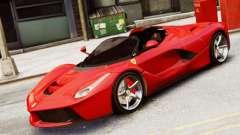 Ferrari LaFerrari Spider para GTA 4
