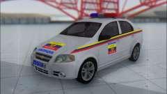 Chevrolet Aveo Милиция OHP