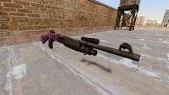 Ружье Benelli M3 Super 90 parte de la roca