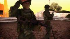El ataque de las fuerzas especiales del interior. para GTA San Andreas