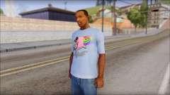Nyan Cat FTW T-Shirt para GTA San Andreas